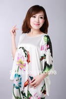Free shipping NEW Fashion Chinese Women's Gown Silk Clothing Dress & Robe & Gown Costume pajamas #S03