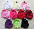1pc/lot wholesale retailer  baby hat with flower,kid's caps, princess baby girl hat