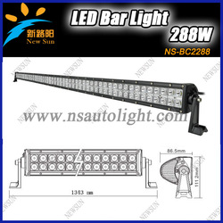 2013 hotsale 12v /24V 50&quot; 288w led light bar for SUV, CREE Off raod led light bar,4x4 driving light, One Year Warranty(China (Mainland))