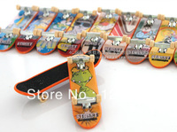 Free shipping hot selling cheap Finger skateboard,finger toy alloy  10pcs/lot multi-color mini skateboard kids gift sports