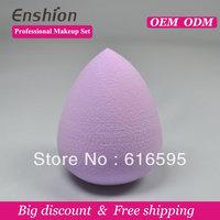 Free shipping! Enshion newest egg shape cosmetic puff powder puff makeup sponge beauty puff