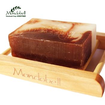 Mondobell coffee soap thin waist slimming face-lift handmade soap bath soap
