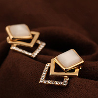 E300 accessories stud earring female fashion earrings - eye vintage stud earring female earrings