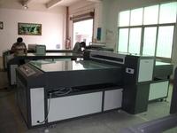 YUEDA ECO Solvent glass printer for 2013