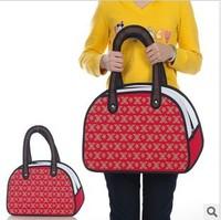 5pcs/lots Fashion design Taiwan secondary yuan 3D bags shoulder bags cartoon handbags tote bags 1421