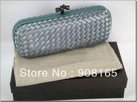 high-quality handmade silk women woven handbag,2013 fashion handbag free shipping