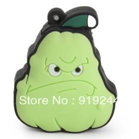 Free Shipping Plants vs Zombies 4GB 8GB 16GB 32GB Squash Cartoon USB Flash Drive 10pcs/lot