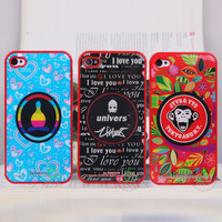 JTYS&TYC pattern for iphone 4&4G back cover case pc cover for iphone 4 Free shipping Wholesale dropship