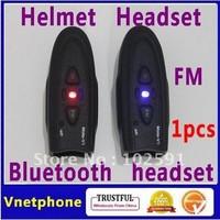 free shipping 1pcs GPS headset Bluetooth Headphone wireless earpiece Motorcycle Helmet Headset helmet earphone
