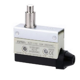 High quality and long button-stroke micro switch reinforced plastic structure XZ7-110 oil dust factory direct