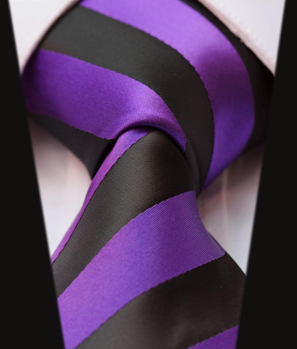 Purple Stripes in Hair Ts4006l8 Purple Black Stripe