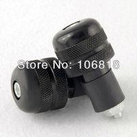 "Custom Universal Fit Black Aluminum Bar End Plug Protector Slider For 7/8"" Handlebar Street Sport Racing Bike MX Dirt Bike MTB"