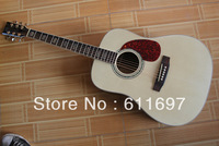 2013 new arrival + guitar factory + M D forty five s folk acoustic guitar, EQ fishman is optional for 30 USD only, hot selling