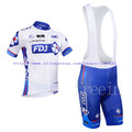 Hot Sale! New Arrival/2013 FDJ Short Sleeve Cycling Jerseys+bib shorts (or shorts)/Cycling Suit /Cycling Wear/-S13F11