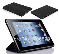 FREE SHIP! 50pcs for ipad mini Extra slim PU Leather case
