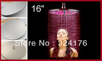 Romantic 16 inch LED Light Rain Shower Head
