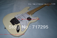 2013 New arrival Chinese guitar factory Yngwie Malmsteen Stratocaster Maple Neck Electric Guitar S-S-H pickups floyd rose bridge