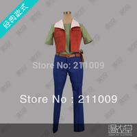 Mobile Suit Gundam 00 Lockon Stratos cosplay costume Cartoon Character Costumes