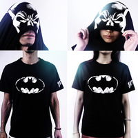 batman superman t shirt 2013 T-shirt personalized short-sleeve t-shirt men's clothing casual t-shirt summer