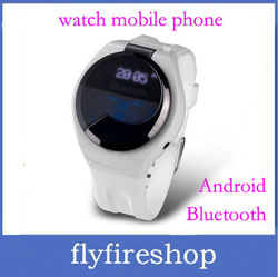 Excellent android watch mobile phone-Vibrating Bluetooth Watch can make phone call, time and number display, phonebook sync(China (Mainland))