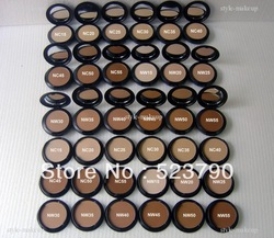 2pcs hot selling Brand Studio Fix Pressed Powder plus Foundation with NC and NW color 15g(China (Mainland))