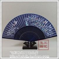 Fan silk fan folding fan props business gift folding fan women's japanese style