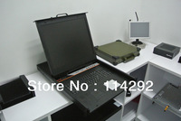 19inch LCK KVM Drawer with 16Ports