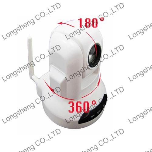 Mini Indoor Sony CCD 10X High Audio Wifi PTZ Speed Dome IP Camera wireless Alarm System(China (Mainland))