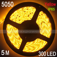 5M Waterproof 5050 SMD Bule/Red/Yellow LED Flexible 300LED Strips 60Led/M Low Price NEW