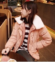 Free shipping Octopussy 2013 spring candy color all-match slim outerwear wadded jacket cotton-padded jacket