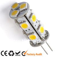 hot sale led spot lights 12V G4 13 smd 5050