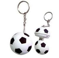 Free Shipping personality Soccer Shaped 4GB 8GB 16GB 32GB Black Plastic Football USB Flash Disk