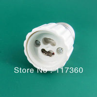 Free shipping 10pcs/lot E27 to GU10  led lamp adaptor converter