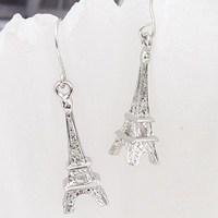 The Eiffel Tower, the lovely earrings stud earrings