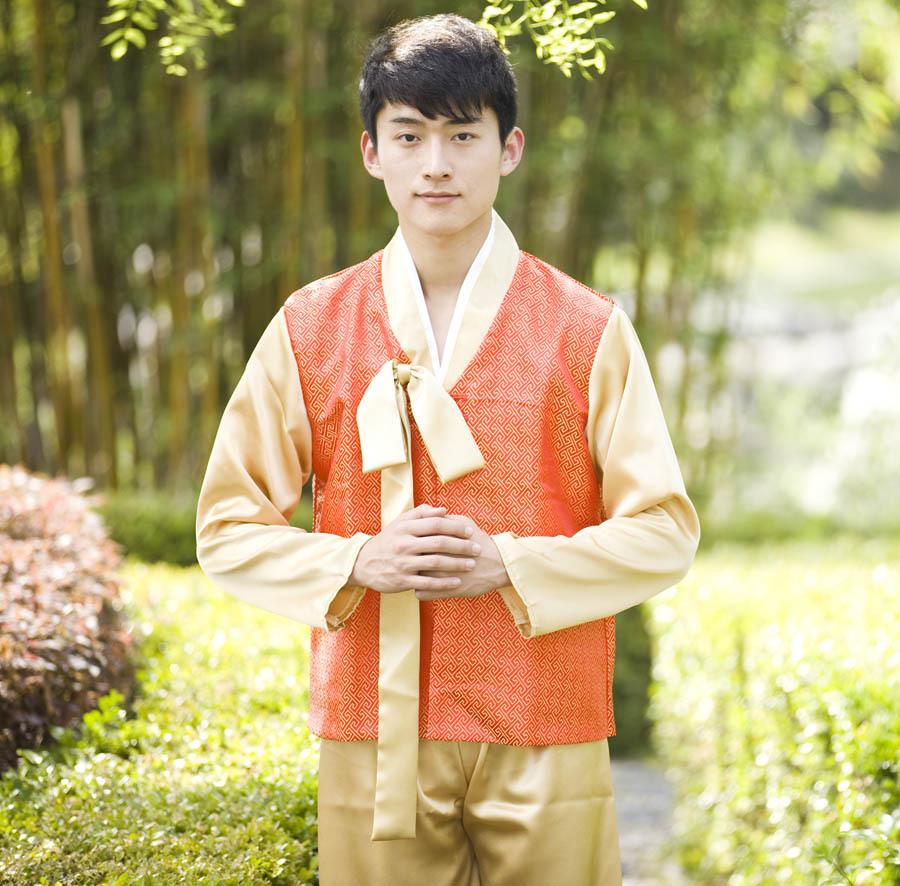 chinese-folk-dance-Male-fengliu-traditional-clothing-costume-wedding