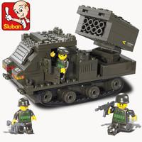 Sluban small tank cannonading Educational toys , Building blocks, Plastic blocks. Free shipping