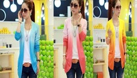 2013 Hot sale New design lady's Cardigan /lady's sweater/ air condition cardigan/knitwear sweater 5 colors 5pc/lot  JSW0427-1