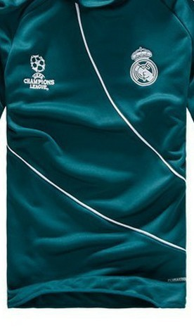 UEFA thailand quality Real Madrid green football soccer jacket/coat/sweater/blazers & trousers,sportswear tracksuit uniforms kit(China (Mainland))