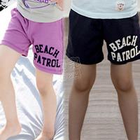 2013 summer simple letter boys clothing girls clothing baby child shorts kz-1695