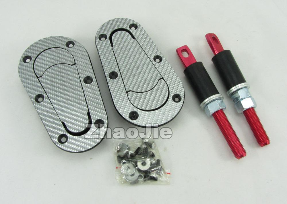 White Carbon Fiber Car Racing Keyless Plus Flush Bonnet Hood Latch Pin Kit Press Lock Plastic Auto no Key Unlversal(China (Mainland))