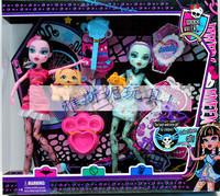 Лучший! 2 шт/много новый стиль наиболее популярных среди детей монстр высокой кукол, совместная деятельность необязательно с коробкой