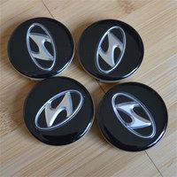 4pcs/lot   Wheel Center Cap Hub Cap 60mm Fit Hyundai Sonata Elantra Tucson Azera