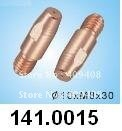 Wholesale-50 pcs Trafimet Binzel Contact tip for Alu wire MB 36KD M8x1.2x30mm (TBi 341P121262)(China (Mainland))