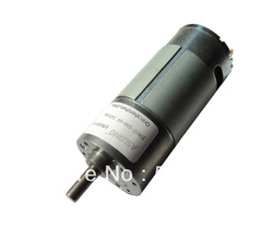 The dc reducing gear JGB37-550 motor run in 6V or 12V also have Different speed in Different voltage(China (Mainland))
