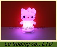 5 PCS Colorful kitty cat small night light B-004  free shipping