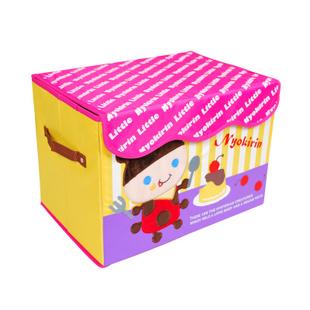High quality cartoon embroidery full hard storage box /baby clothing storage box /toy box /underwear storage box