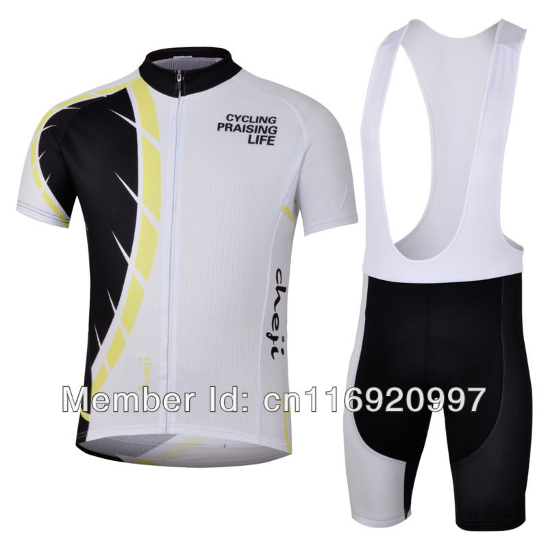 2013 CheJi Pro Cycling Jerseys Short BIB suit Breathable FreeShipping Wholesale Serivce For Outdoor Sport wear Bike Jersey(China (Mainland))