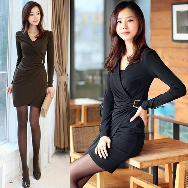 Черное маленькое платье
