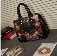 NEW ARRIVAL,2013  fashion lades handbag ,with pu leather ,popular women bags ,JB-38