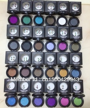 Free Shipping New Eye Shadow 24 different Color eyeshadow 1.5g  pigment(24pcs/set)